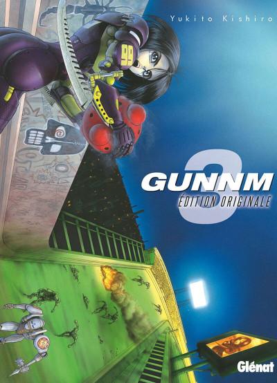 Couverture Gunnm - édition originale tome 3