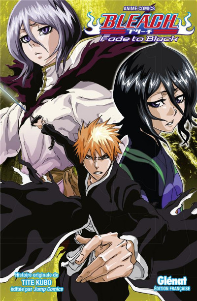 Couverture Bleach - anime comics - fade to black