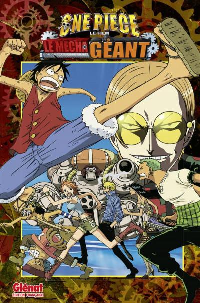 Couverture One Piece - Le mecha géant du château Karakuri