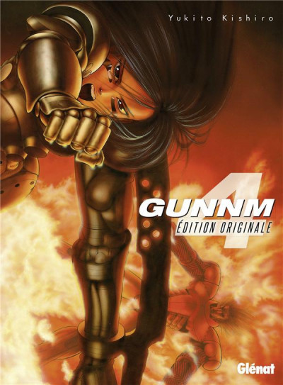 Couverture Gunnm - édition originale tome 4