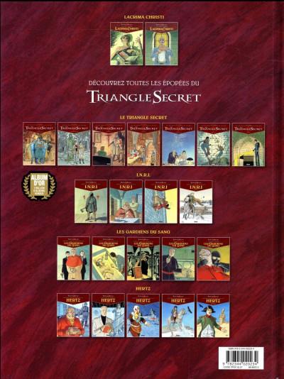 Dos Le triangle secret - Lacrima Christi tome 3