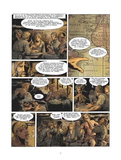 Page 3 Les pirates de Barataria tome 11