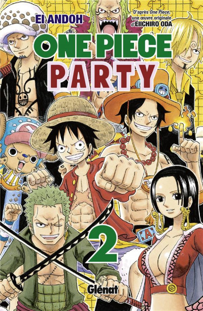 Couverture One Piece party tome 2