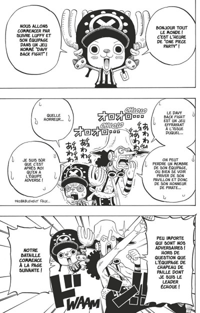 Page 8 One Piece party tome 2