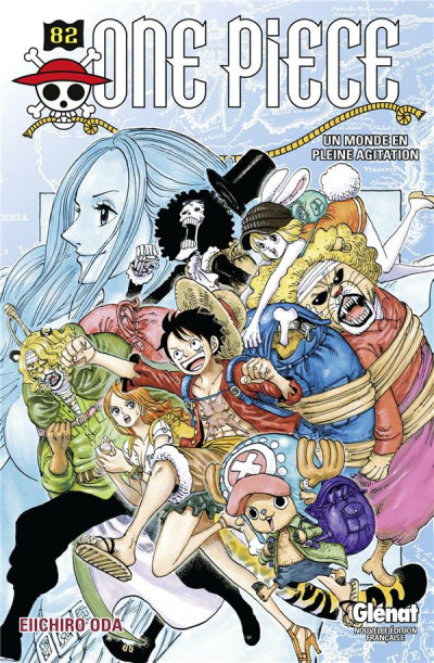 Couverture One Piece tome 82