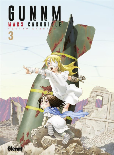 Couverture Gunnm - mars chronicle tome 3