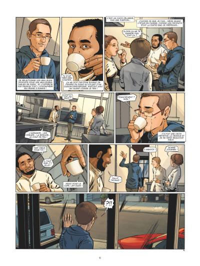 Page 4 Châteaux Bordeaux - À table ! tome 1