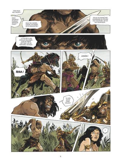 Page 4 Conan le cimmérien - Chimères de fer dans la clarte lunaire