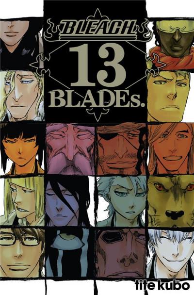 Couverture Bleach - 13th blades