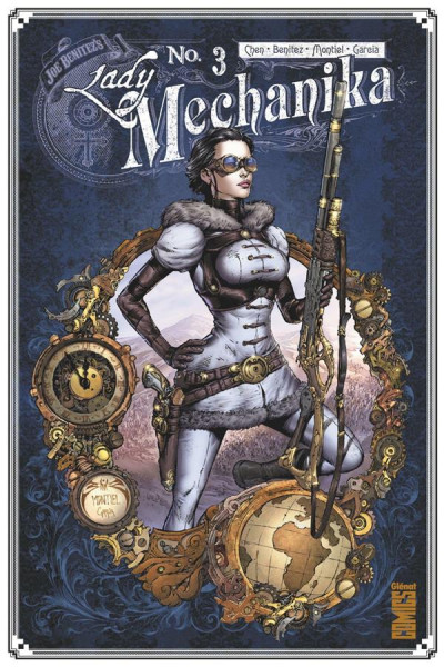 Couverture Lady Mechanika tome 3