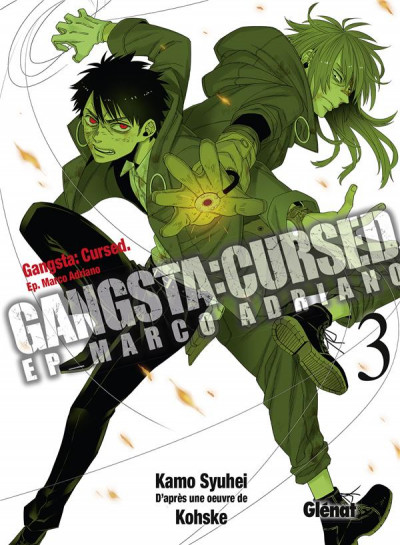 Couverture Gangsta cursed tome 3