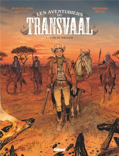 Couverture Les aventuriers du Transvaal tome 1