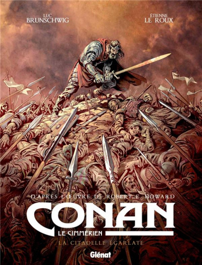 Couverture Conan le Cimmérien - La citadelle écarlate