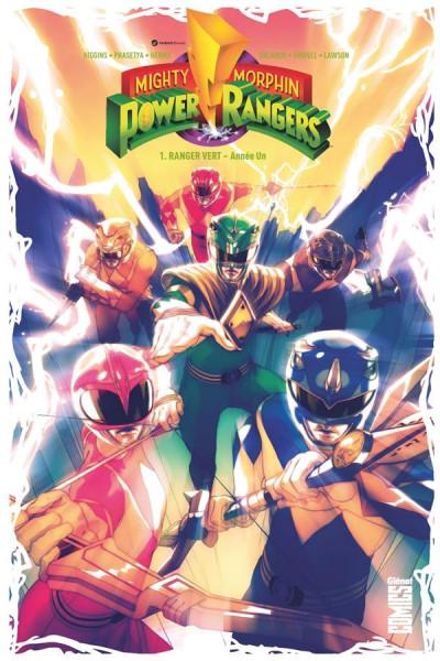 Couverture Power Rangers tome 1 - Ranger vert, année un
