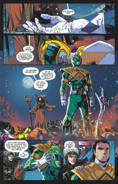 Page 1 Power Rangers tome 1 - Ranger vert, année un