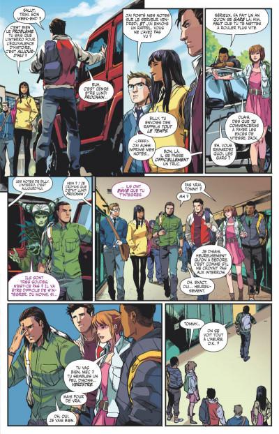 Page 3 Power Rangers tome 1 - Ranger vert, année un