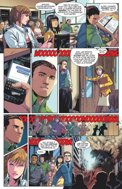Page 4 Power Rangers tome 1 - Ranger vert, année un