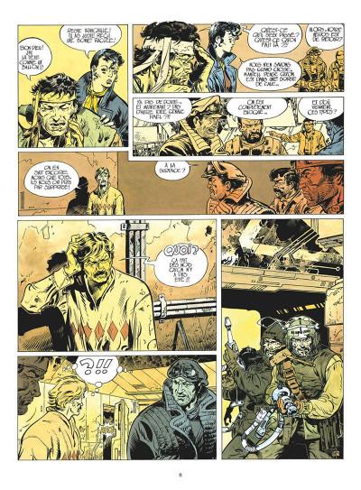 Page 9 Dans l'ombre du soleil - intégrale