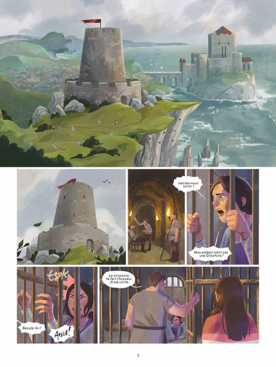 Page 6 Sarah - une histoire de l'île d'Errance