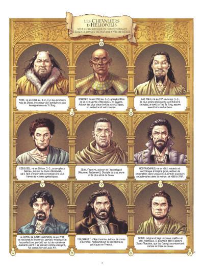 Page 1 Les chevaliers d'Héliopolis tome 2