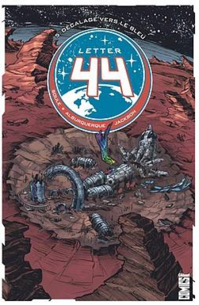 Couverture Letter 44 tome 5