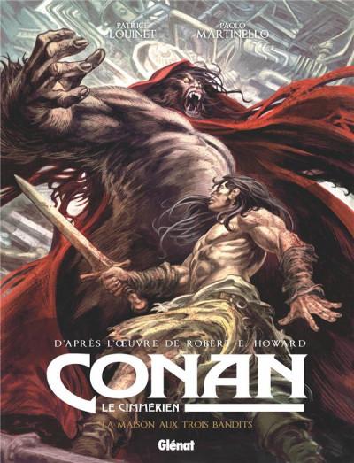 Couverture Conan le cimmérien - La maison aux trois bandits