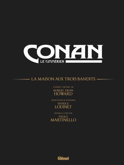 Page 4 Conan le cimmérien - La maison aux trois bandits