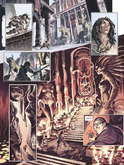 Page 9 Conan le cimmérien - La maison aux trois bandits