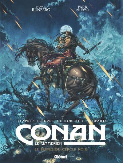 Couverture Conan le Cimmérien - Le peuple du cercle noir + ex-libris offert