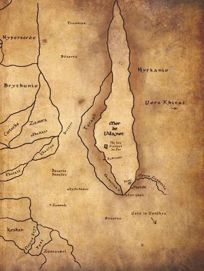 Page 2 Conan le Cimmérien - Le peuple du cercle noir + ex-libris offert