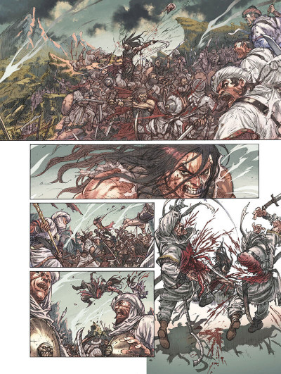 Page 6 Conan le Cimmérien - Le peuple du cercle noir + ex-libris offert