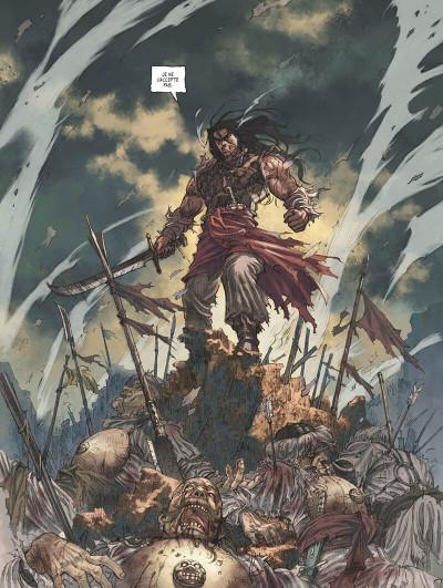 Page 8 Conan le Cimmérien - Le peuple du cercle noir + ex-libris offert