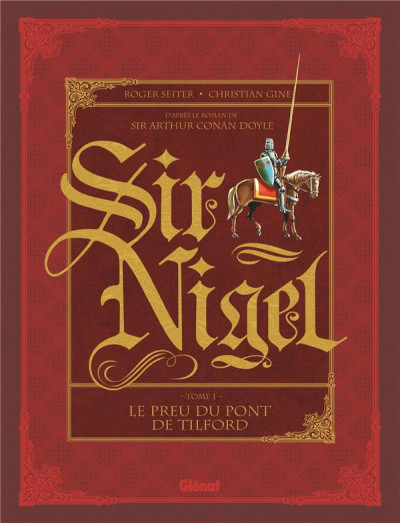 Couverture Sir Nigel tome 1