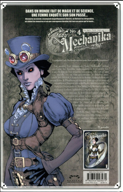 Dos Lady Mechanika tome 4