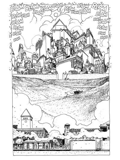 Page 2 Dans l'antre de la pénitence - édition collector n&b