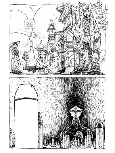 Page 3 Dans l'antre de la pénitence - édition collector n&b