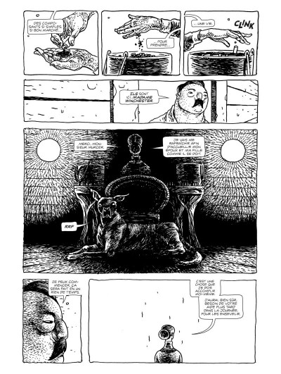 Page 4 Dans l'antre de la pénitence - édition collector n&b