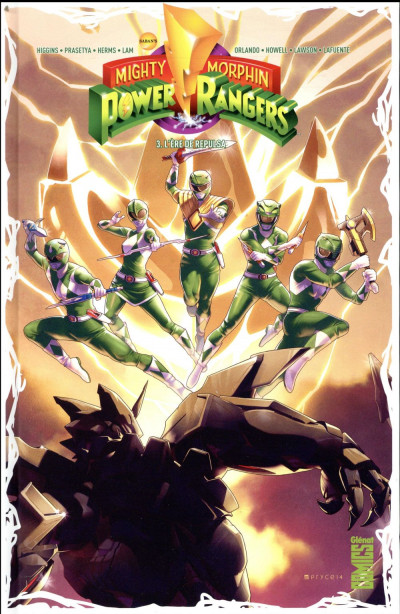 Couverture Power rangers tome 3