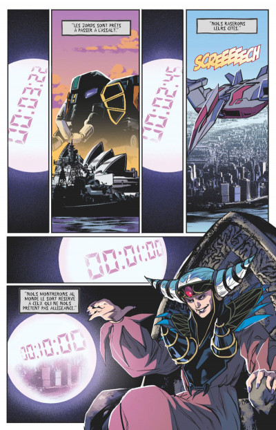 Page 1 Power rangers tome 3