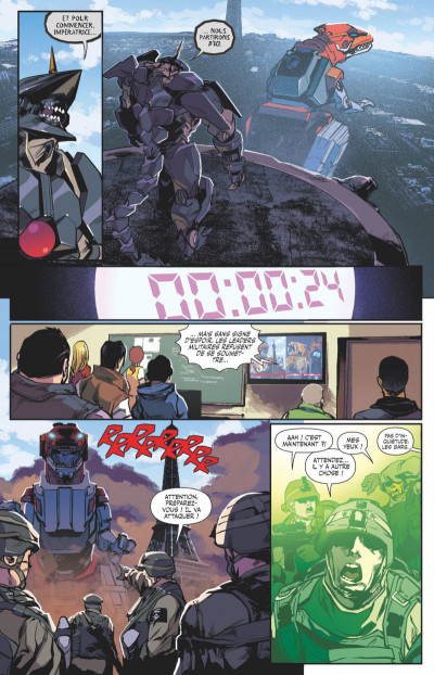 Page 2 Power rangers tome 3