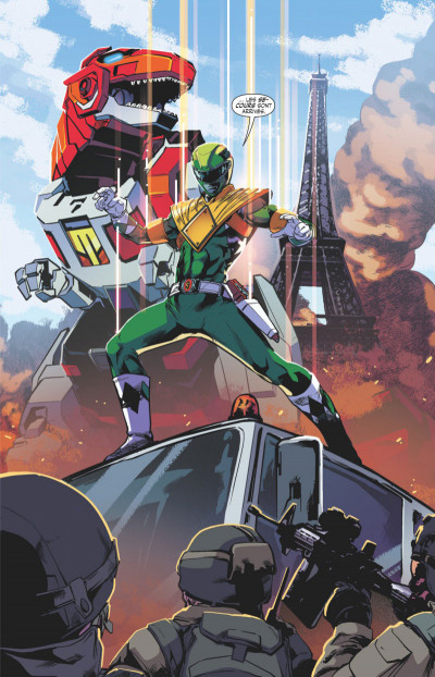 Page 3 Power rangers tome 3