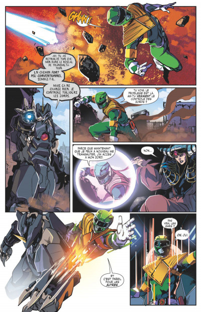 Page 4 Power rangers tome 3