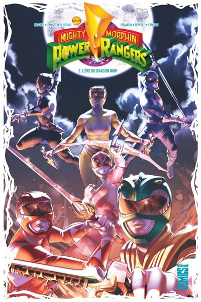 Couverture Power rangers tome 2