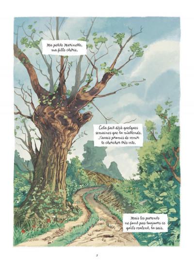Page 1 Les souvenirs de Mamette tome 2