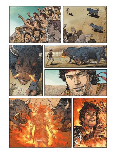 Page 3 Jason et la toison d'or tome 3