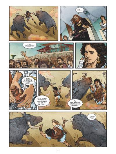 Page 8 Jason et la toison d'or tome 3