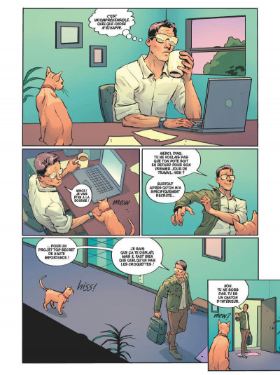 Page 1 Angel catbird tome 1