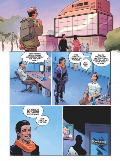 Page 2 Angel catbird tome 1