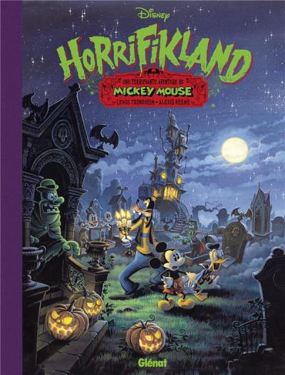 Couverture Mickey Mouse - Horrifikland