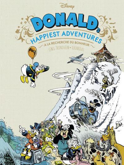 Couverture Donald's happiest adventures
